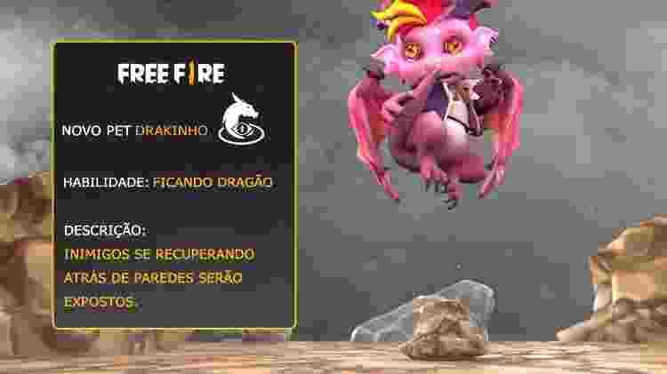 Free Fire Drakinho 2 - Reprodução - Reprodução