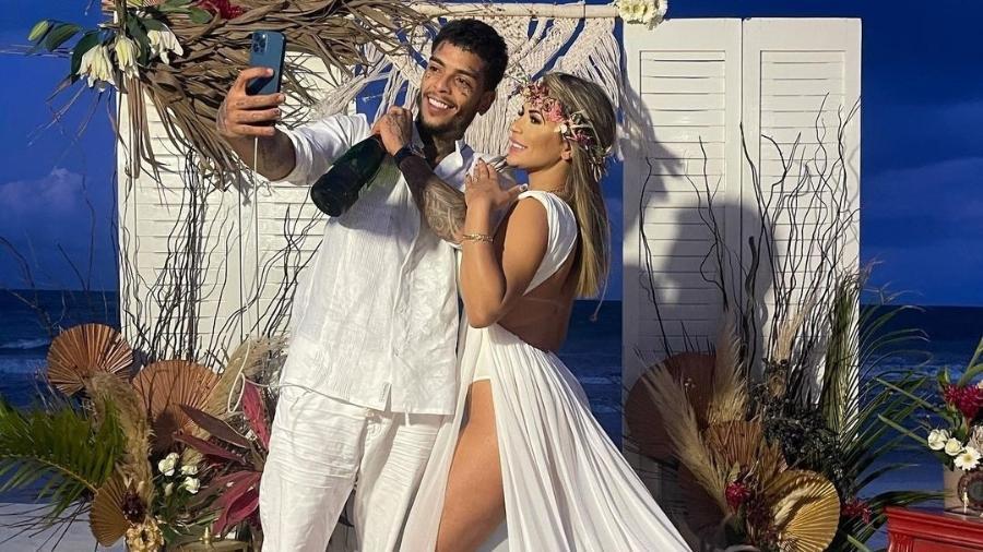 MC Kevin e a mulher, Deolane Bezerra - Reprodução/Instagram @dra.deolane.bezerra