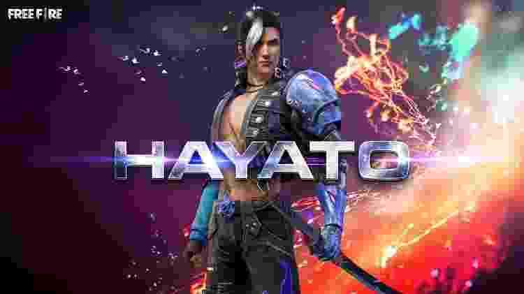 Free Fire Hayato - Reprodução - Reprodução