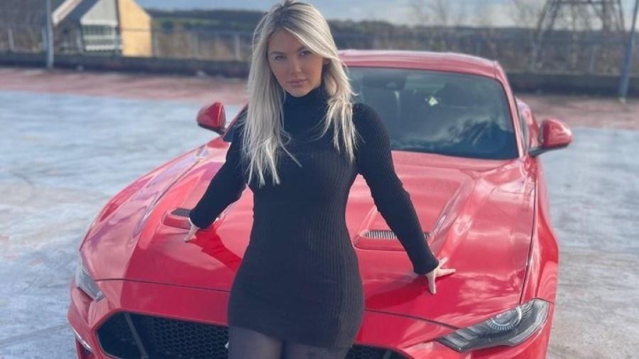 Morgan Doyne atribui compra de carro avaliado em R$ 287 mil à renda via OnlyFans - Reprodução/Instagram