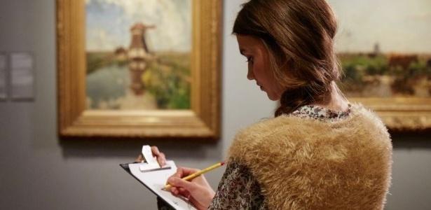 Aos sábados, o Rijksmuseum dá lápis e papel para os visitantes - Divulgação/Rijksmuseum