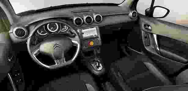 Citroën C3 2017 interior - Divulgação - Divulgação
