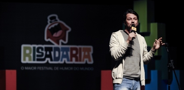 O ator Marcelo Serrado, uma das atrações do festival Risadaria - Divulgação