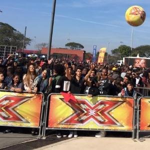 """Primeira audição do """"X Factor"""" foi marcada por caos em SP - Reprodução/Instagram"""