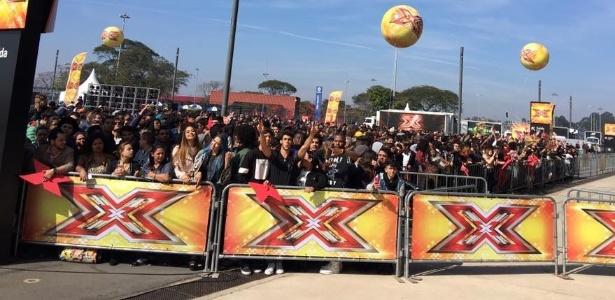 """Candidatos do """"X Factor"""", da Bandeirantes, se reúnem nas primeiras audições - Reprodução/Instagram"""