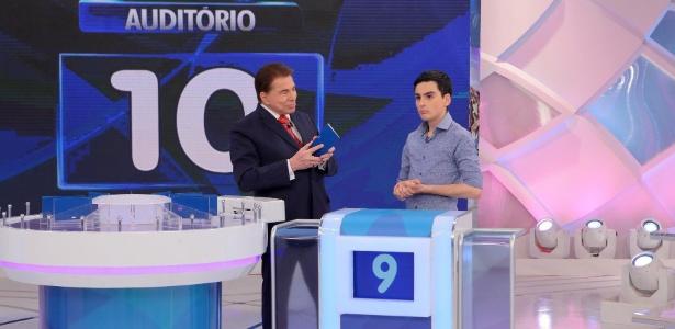 Silvio Santos recebe Dudu Camargo no programa que irá ao ar neste domingo (27) - Lourival Ribeiro/SBT