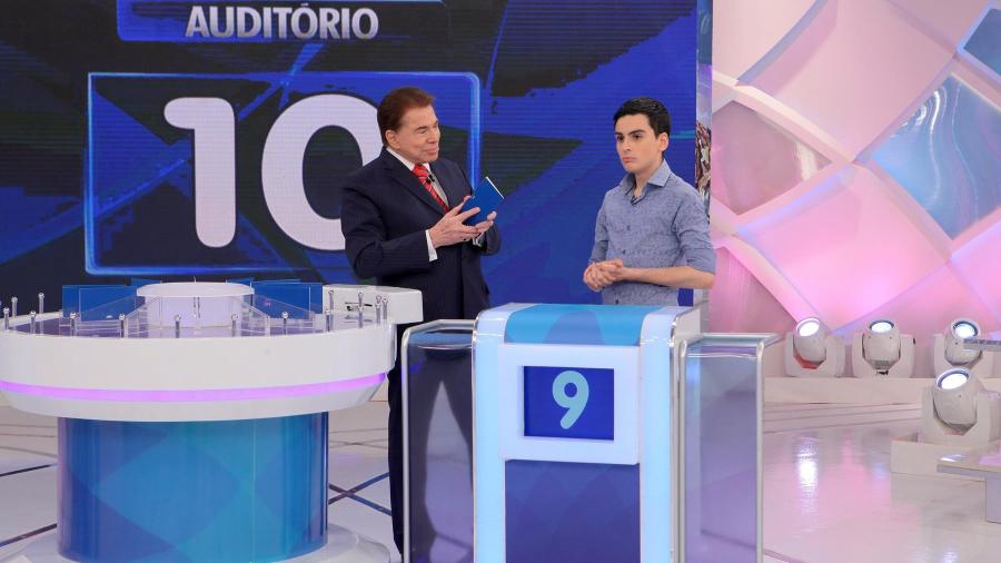 Silvio Santos e Dudu Camargo - Lourival Ribeiro/SBT