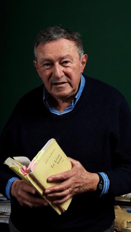 O escritor francês Serge Doubrovsky - Divulgação