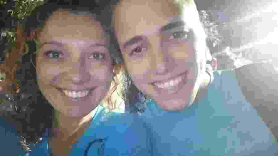 Cris Menez é 17 anos mais velha do que o marido, Felipe Lage - Arquivo Pessoal
