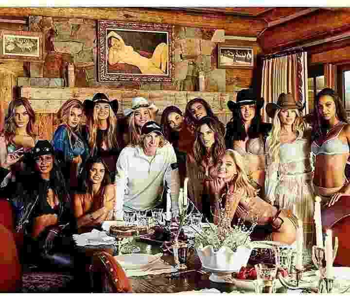 Dirigidas por Michael Bay, as angels da Victoria's Secret entre elas as brasileiras Alessandra Ambrósio, Adriana Lima e Lais Ribeiro se reuniram em Aspen, no Colorado, nos Estados Unidos - Reprodução/Instagram