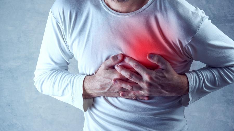 Ataques cardíacos ocorrem por causa da interrupção do fluxo sanguíneo para o coração - iStock