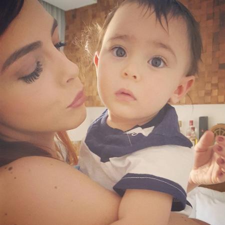 Titi Müller com o sobrinho, Martin - Reprodução/Instagram