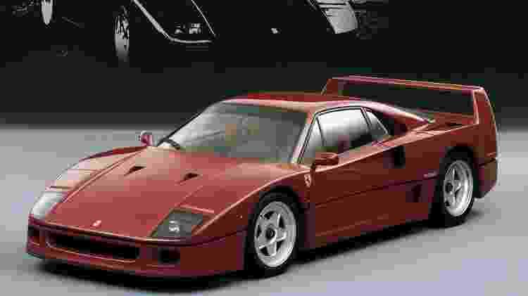 V8 turbo, 324 km/h de máxima, preço de US$ 400 mil no final dos anos 1980 - Divulgação