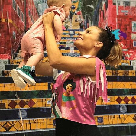 Maíra Charken com Gael - Reprodução/Instagram/mairacharken