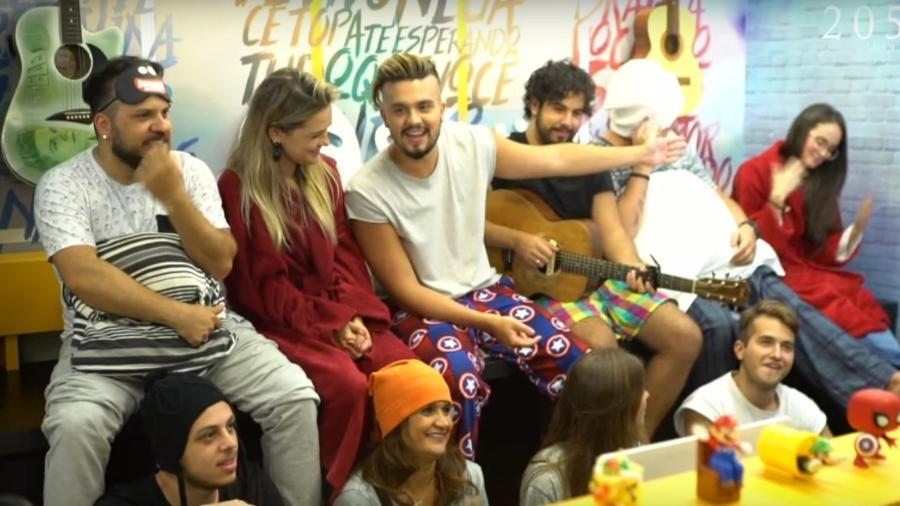 Luan Santana reúne amigos para lançar nova música - Reprodução