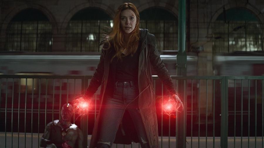 """Elizabeth Olsen interpreta Wanda Maximoff em """"Vingadores"""" - Divulgação"""