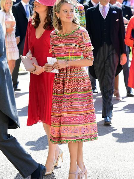 Cressida Bones, ex do príncipe Harry - Getty Images