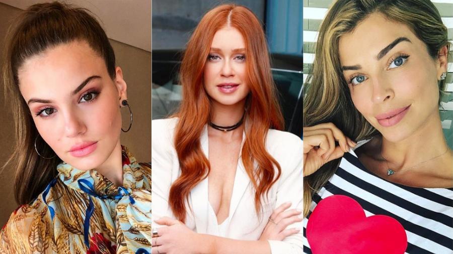 Camila Queiroz, Marina Ruy Barbosa e Grazi Massafera: as aniversariantes da Copa - Reprodução/Instagram