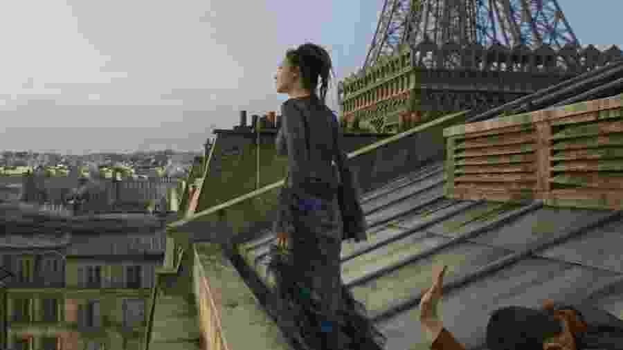 """Em """"Animais Fantásticos: Os Crimes de Grindelwald"""", Claudia Kim é Nagini, que vai virar a cobra de Voldemort na saga Harry Potter - Divulgação"""