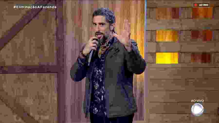 """Marcos Mion fala sobre a segunda eliminação de """"A Fazenda 10"""" - Reprodução/RecordTV"""