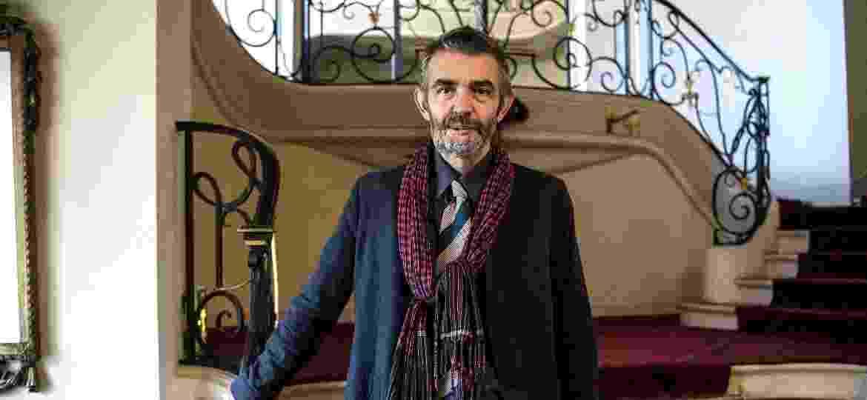 O jornalista e escritor francês Philippe Lancon, sobrevivente do atentado ao Charlie Hebdo - Christophe ARCHAMBAULT/AFP