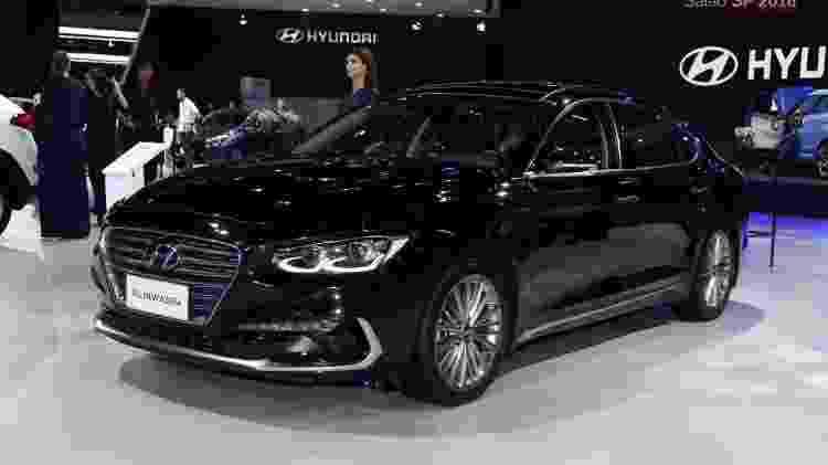 Hyundai Azera - Murilo Góes/UOL - Murilo Góes/UOL