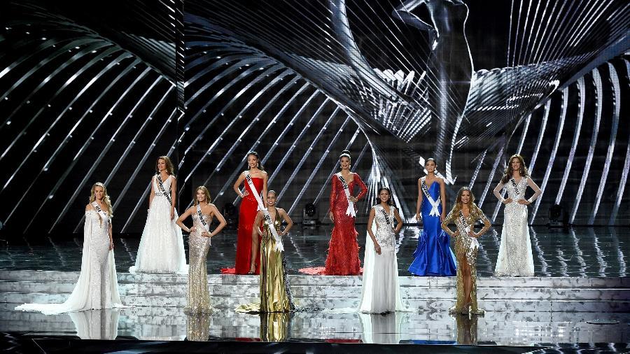Cena do concurso Miss Universo de 2017, em Las Vegas - Getty Images