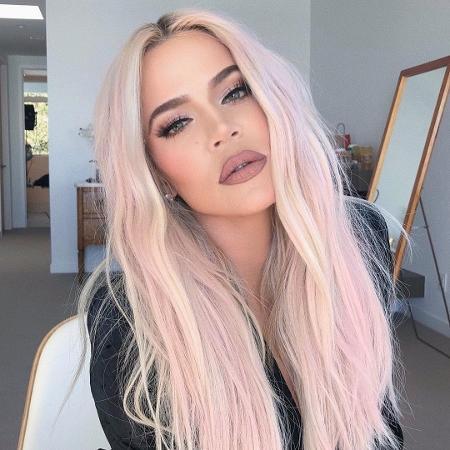 Khloé Kardashian é mãe da pequena True, de 8 meses - Reprodução/Instagram