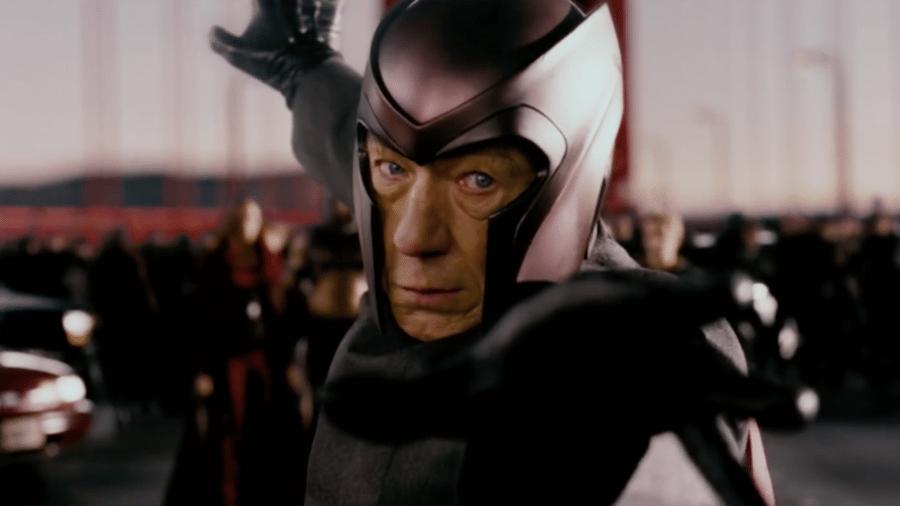 Ian McKellen como Magneto - Reprodução
