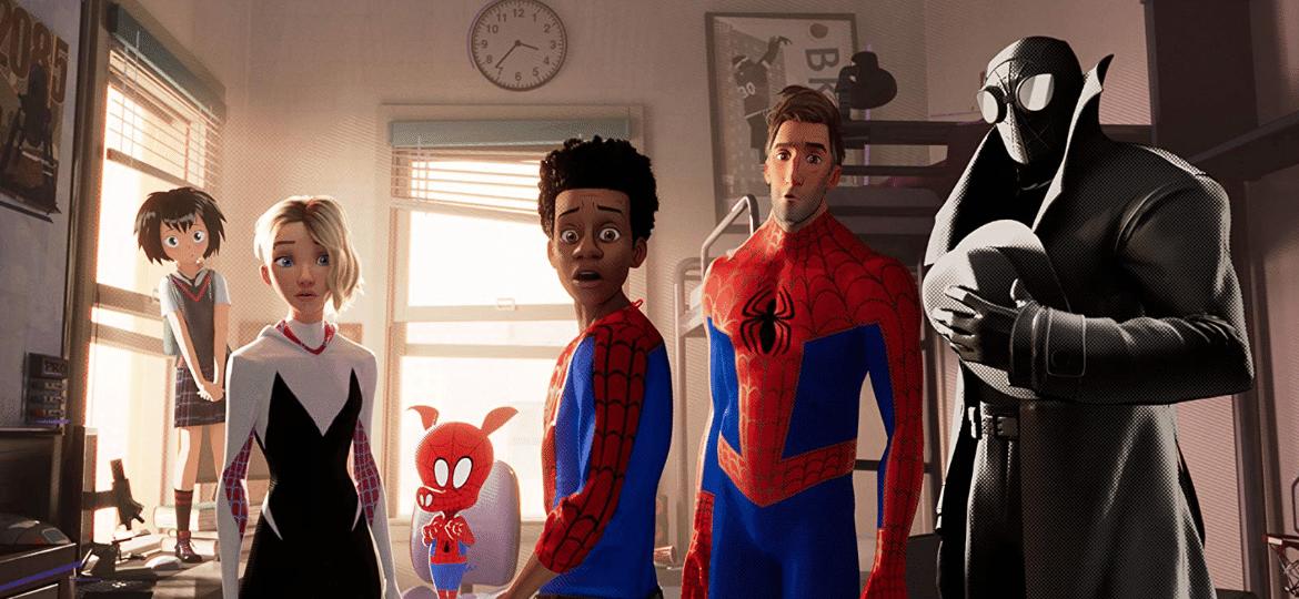 """Todos os heróis reunidos de """"Homem-Aranha no Aranhaverso"""" - Reprodução"""