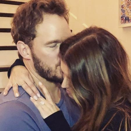 Chris Pratt e Katherine Schwarzenegger anunciam noivado no Instagram - Reprodução/Instagram