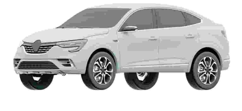 Arkana pode trazer motor 1.3 turbo feito em conjunto com a Daimler - Reprodução