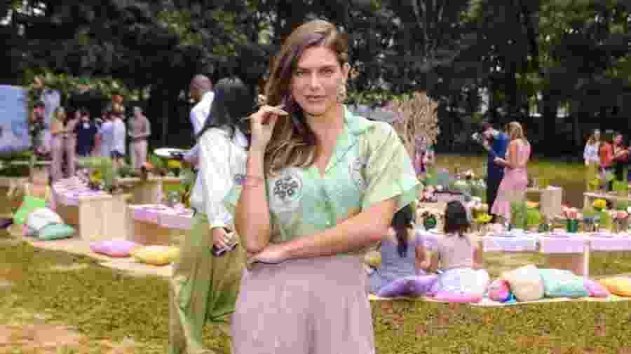 """Mariana Goldfarb durante o lançamento da marca de comésticas """"Love Beauty and Planet"""", nesta segunda-feira (29) - Thiago Duran/AgNews"""