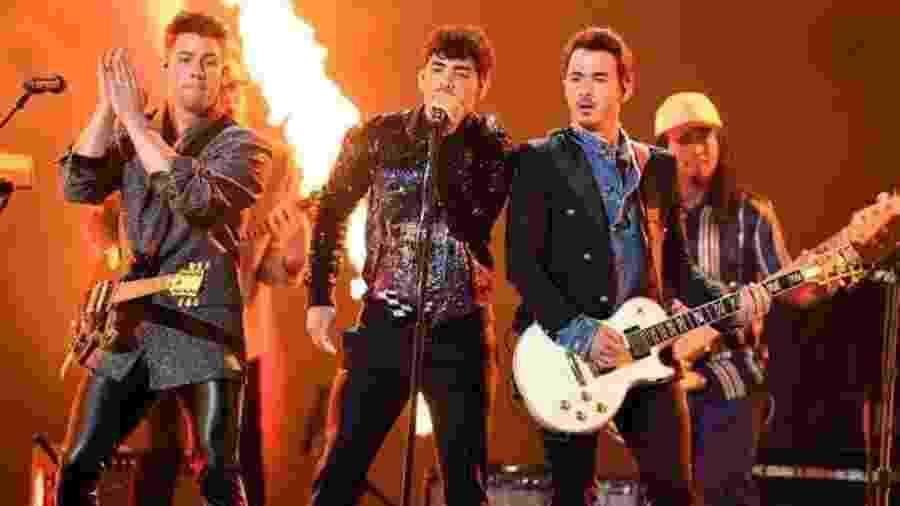 Jonas Brothers se apresentam na Billboard Music Awards - Reprodução/TNT