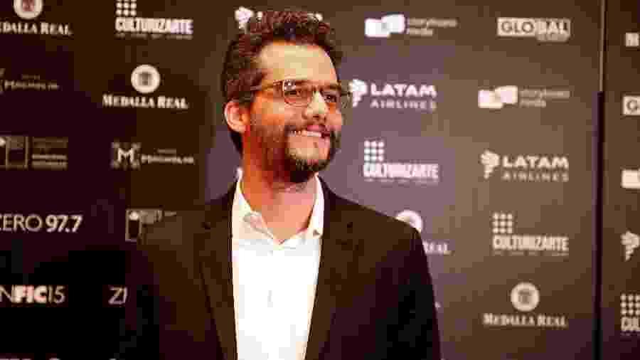 Wagner Moura no 15º Festival Internacional de Cinema de Santiago - Rodrigo Garrido/Reuters