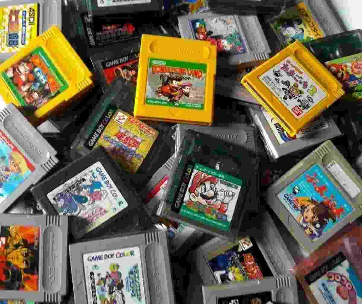 Game Boy Color - Reprodução