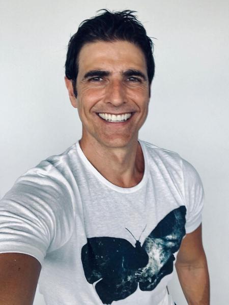 "Reynaldo Gianecchini, 46, assumiu que já teve relacionamento com homens, mas que não precisa ""sair do armário"". ""Desejo independe do gênero"" - Reprodução/Instagram"