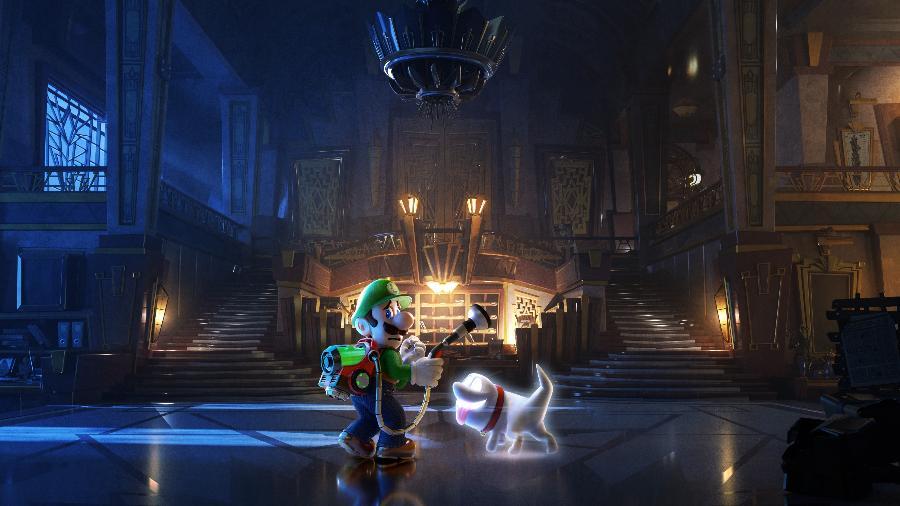 """""""Luigi""""s Mansion 3"""" é novo game exclusivo para Nintendo Switch - Divulgação"""