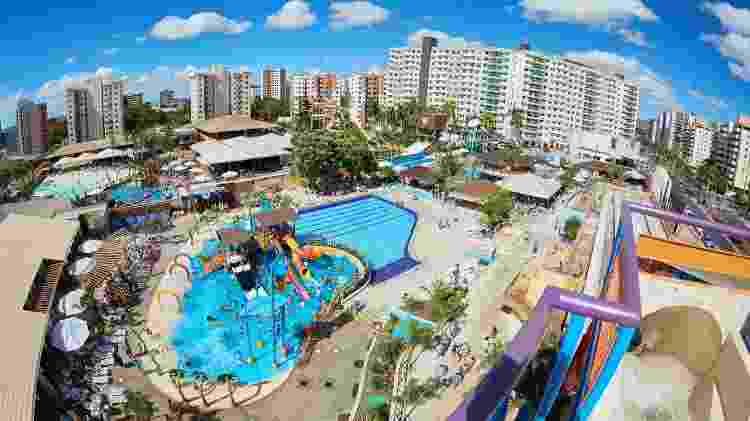 Vista aérea do Clube Privé - Divulgação