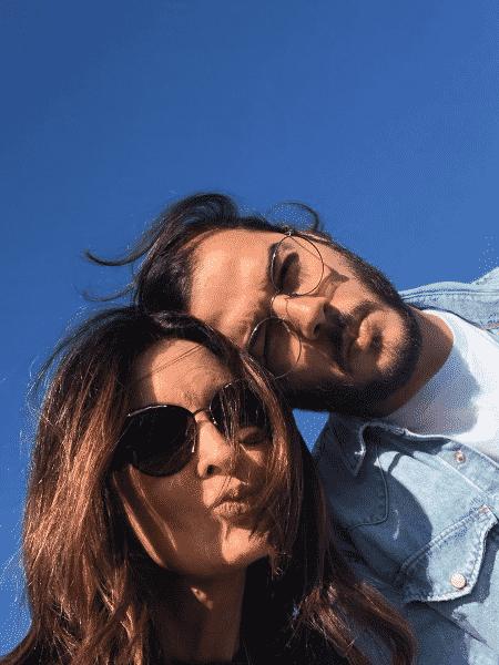 Fátima Bernardes e Túlio Gadêlha postam foto em Lisboa - Reprodução/Instagram