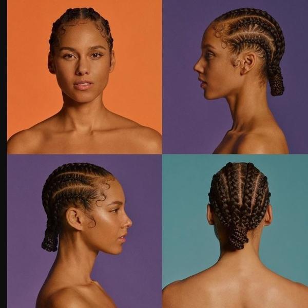A capa de 'ALICIA', novo disco de Alicia Keys