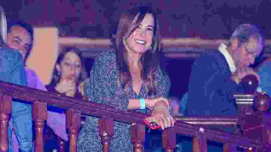 Zilu na gravação do DVD de Simone e Simaria - Manuela Scarpa/Brazil News