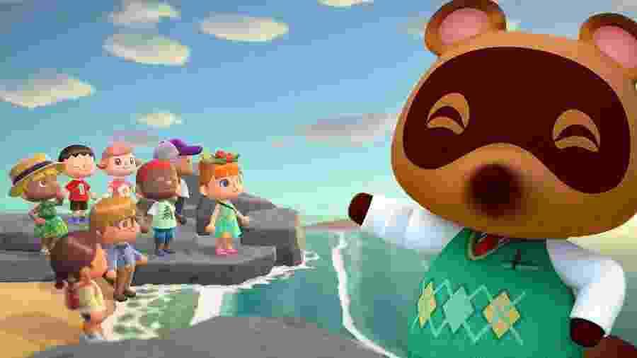 Amigos, sombra e água fresca: mais um dia em Animal Crossing - Reprodução