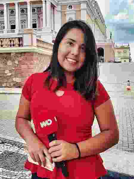 Luciene Kaxinawá é repórter da CNN Brasil    - Divulgação