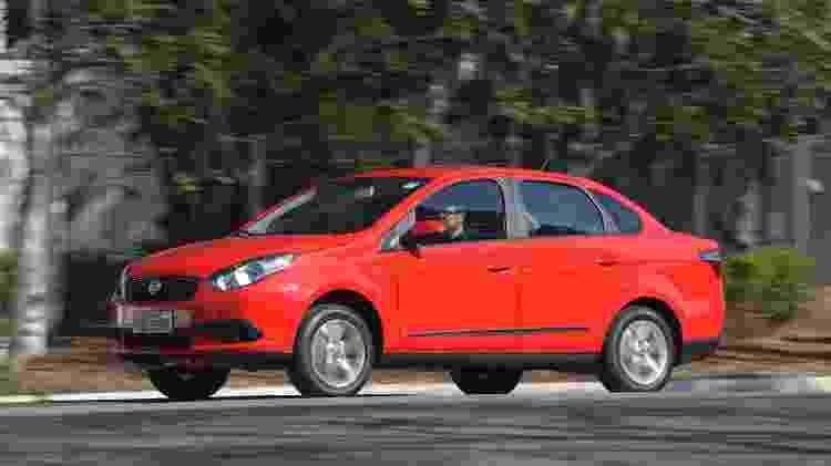 Fiat Grand Siena GNV - Murilo Góes/UOL - Murilo Góes/UOL