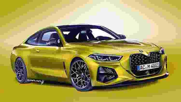 Projeção do BMW M4 - Reprodução/Andrei Avarvarii - Reprodução/Andrei Avarvarii