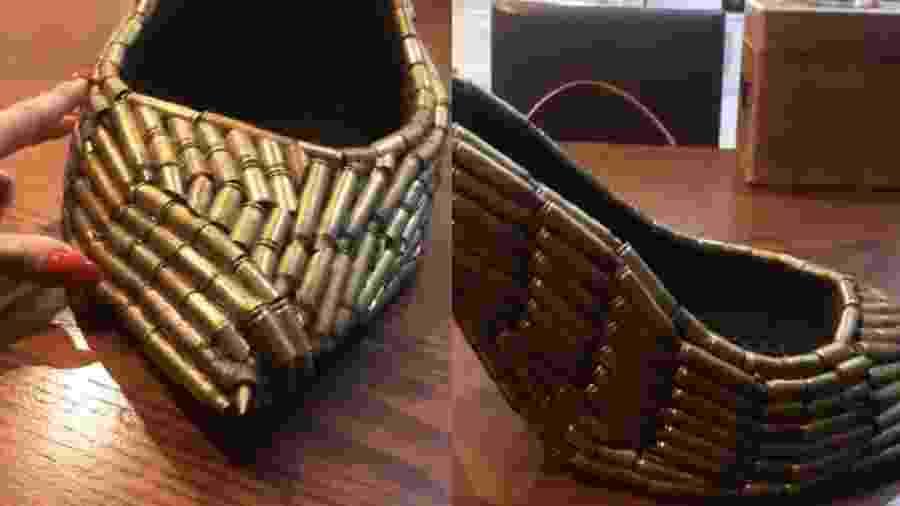 Antônia Fontenelle exibe sapato em rede social - Reprodução/Instagram
