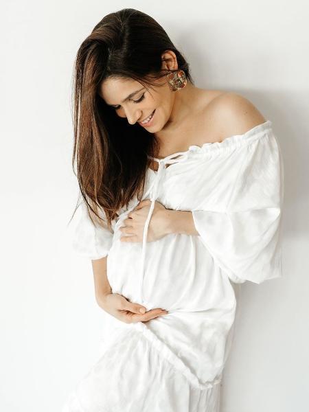 A atriz Sabrina Petraglia está grávida pela segunda vez - Reprodução/Instagram