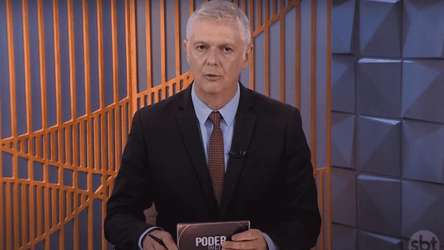 """Fernando Rodrigues durante o programa """"Poder em Foco"""" - Reprodução / Youtube"""