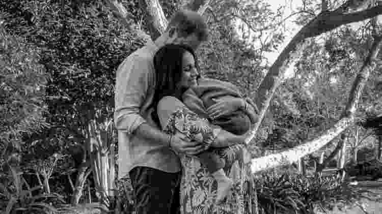 O príncipe Harry e Meghan divulgaram uma nova imagem deles com seu filho Archie, que nasceu em 2019 - MISSAN HARIMAN/THE DUKE AND DUCHESS OF SUSSEX - MISSAN HARIMAN/THE DUKE AND DUCHESS OF SUSSEX